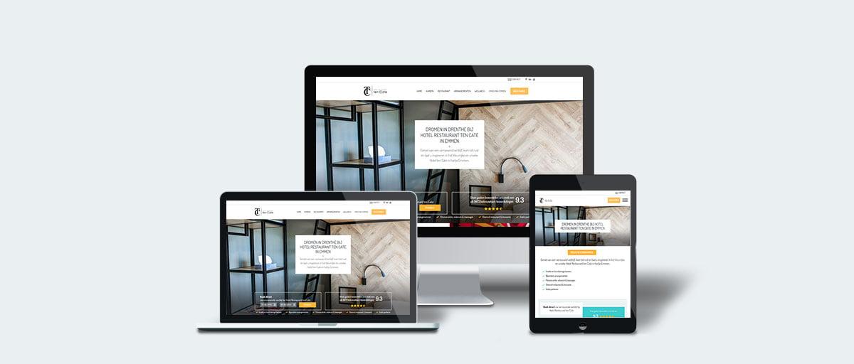 website hotel-ten-cate