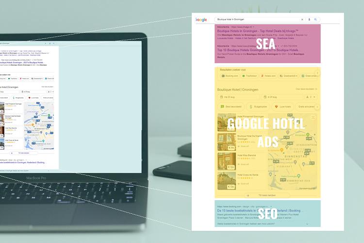 hogere bezettingsgraad gasten SEO SEA GOOGLE HOTEL ADS